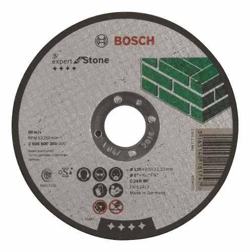 Disco Abrasivo Corte Expert Piedra Cto Recto 5 X1/8  Bosch