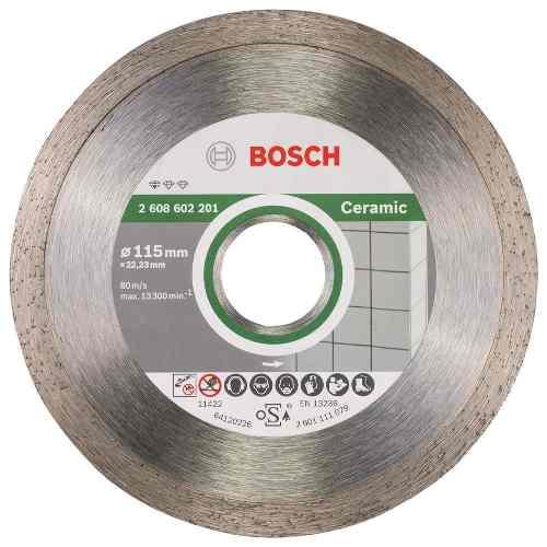 Disco Diam. Professional Ceramica Continuo 4 1/2  Bosch