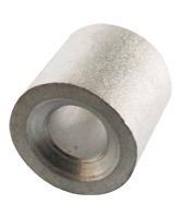 Casquillo Tope Aluminio 1/8 Pulgada Con 100 Piezasobi