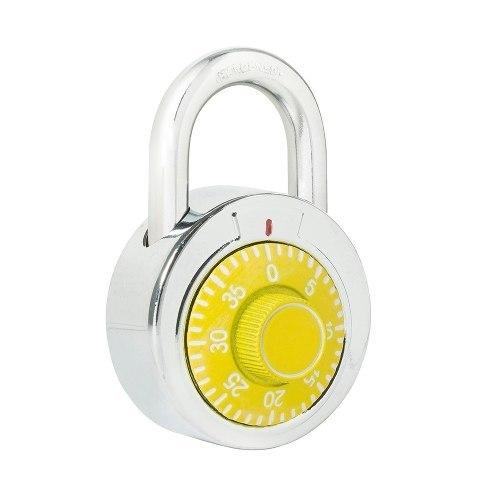 Candado De Combinación Disco 50mm Amar L26s50amb Lock