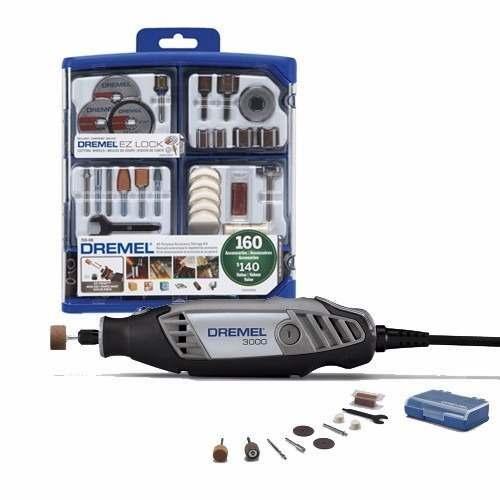 Combo Dremel Mototool 3000 Mas 170 Accesorios Kit 710 Envio