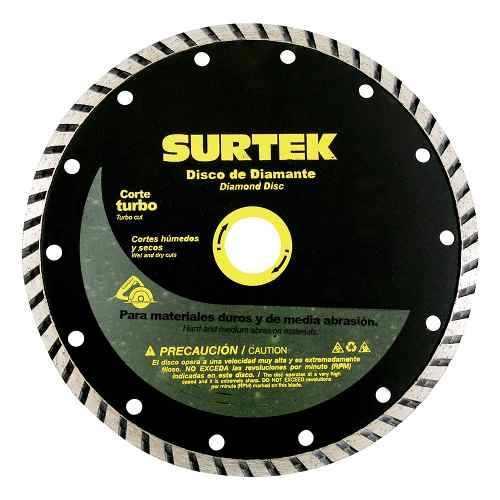 Disco De Diamante Corte Turbo 4  123470 Surtek