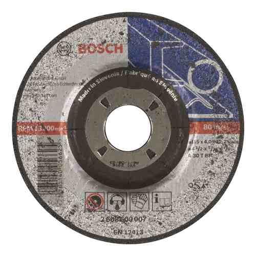 Disco Abrasivo Desbaste Exp Metal Cto Dep 4-1/2 X5/32  Bosch