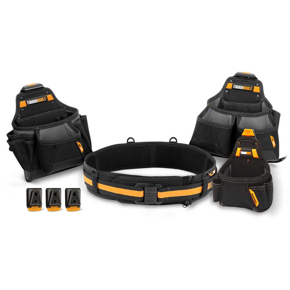 Bolsas Porta Herramientas 36 Bolsillos + Cinturon Toughbuilt