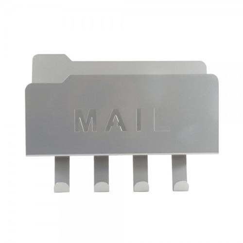 Colgador Para Llaves De Acero Cromado Plata Namaro Design