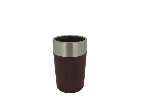 Vaso Acero Inoxidable Pvc Café Ba-432845 Namaro Design