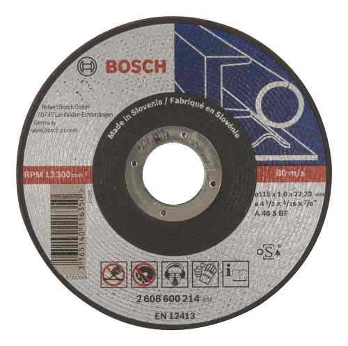 Disco Abrasivo Corte Exp Metal Cto Recto 4-1/2 X1/16 Udbosch