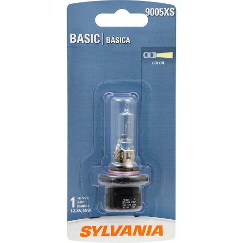 Foco Frontal Basic Sylvania 9005xs Halogeno Paquete De 1 Pza