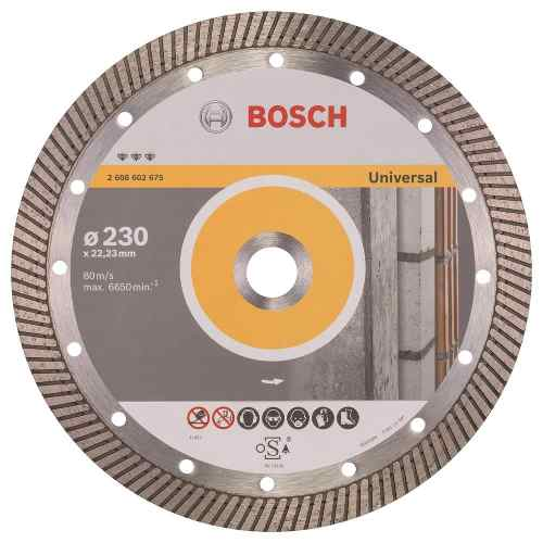 Disco Diam. Best Universal Turbo 9  Bosch