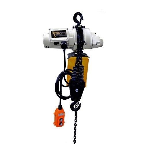 Polipasto Electrico De Cadena 6met Carga 300kg 220v Kingsman