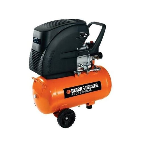 Compresor De Aire 24 Litros Con Manometro Ct224 Black&decker