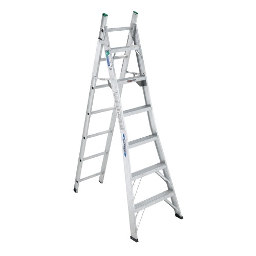 Escalera Convertible13escaltipoii102 Kgaluminio Werner