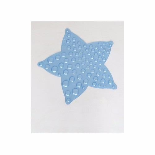 Tapete Para Baño En Forma De Estrella De Mar En Color Azul