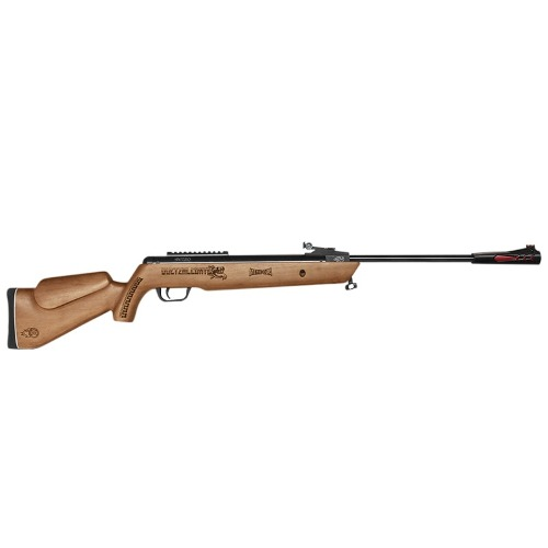 Rifle Quetzalcoatl Nitropiston Madera Barniz Cal 5.5 Mendoza
