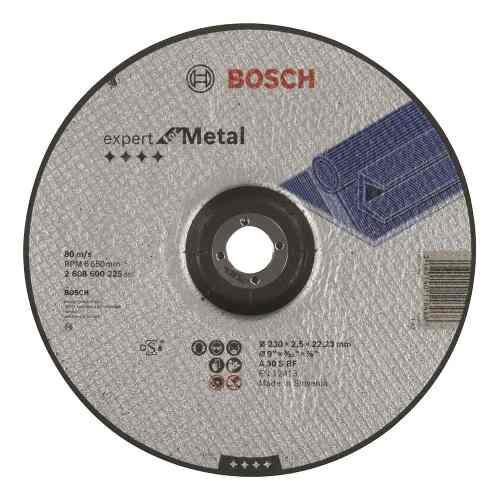 Disco Abrasivo Corte Exp Metal Cto Deprimido 9 X3/32  Bosch