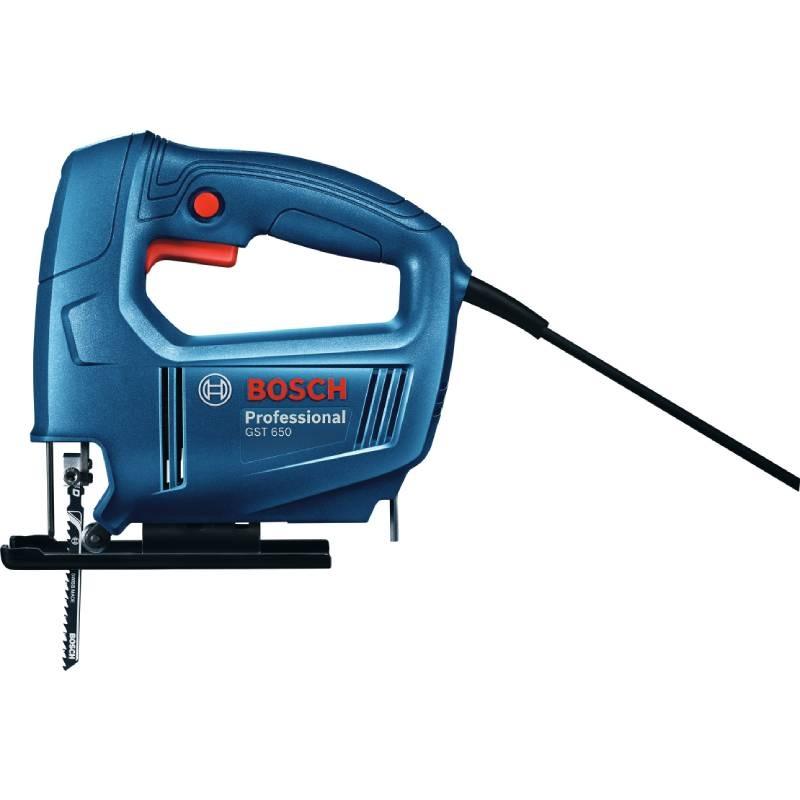 Sierra Caladora Profesional 450 W Con Sierra Gst 650 Bosch