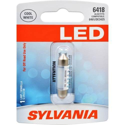 Foco Led Blanco Festoon Sylvania 6418 36mm Paquete De 1 Pza