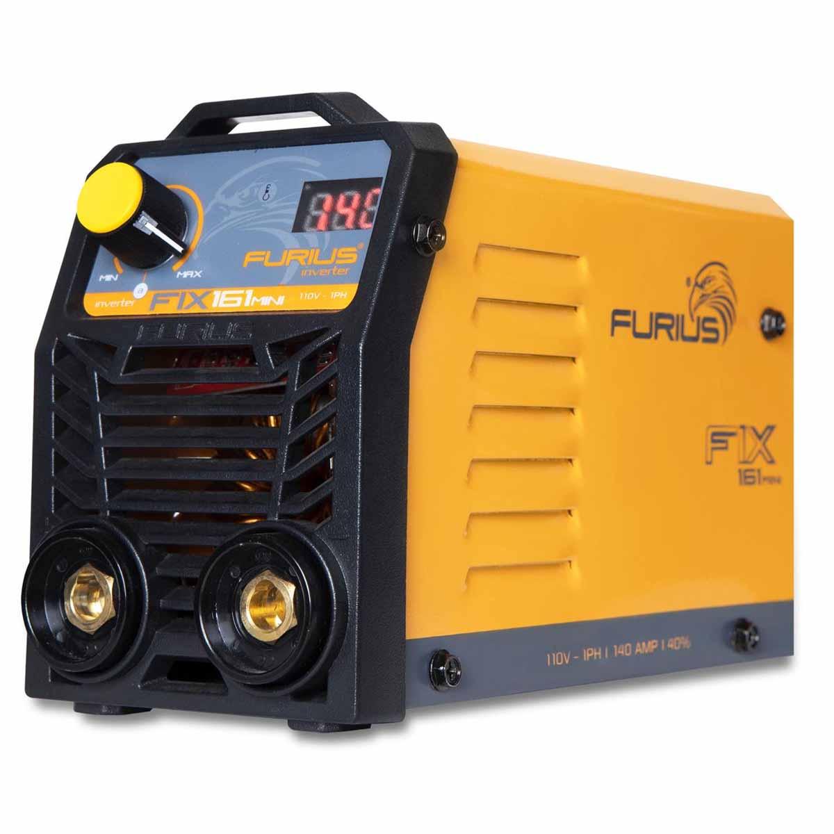 Soldadora Inversora Inverter Mini 110V 140AMP Herrero Furius
