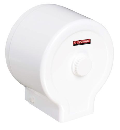 Dispensador Papel Higienico Redondo Blanco 711735 Peldaños