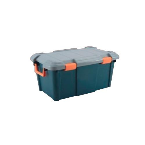 Caja Plastica Multiusos Alto Impacto 52l 59x37x38 Verde