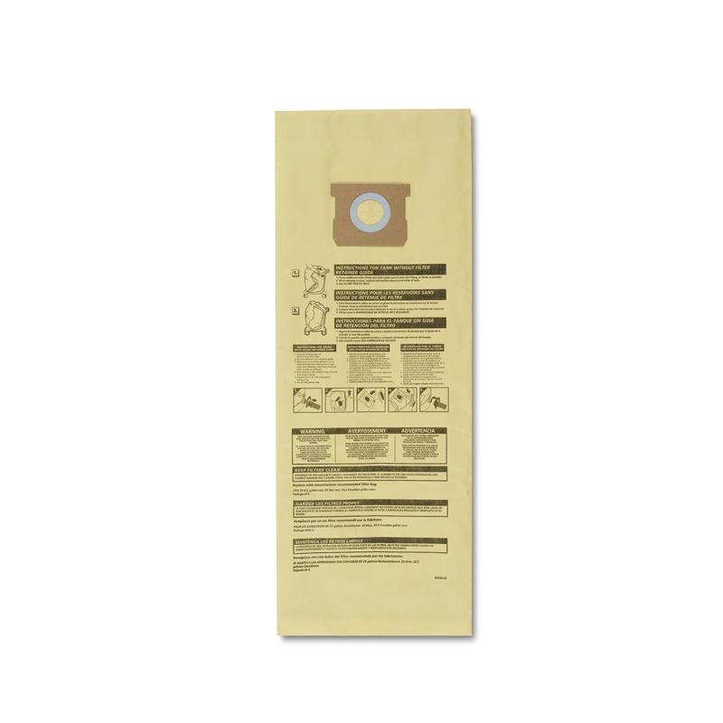 Bolsa Para Aspiradora Drywall Tablaroca 25gal 2 Pzs Shop Vac