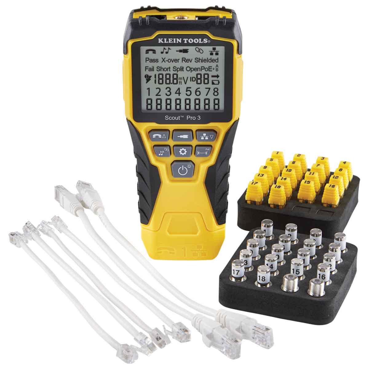 Probador De Cables Scout Pro3 + Kit Transmisores Klein Tools