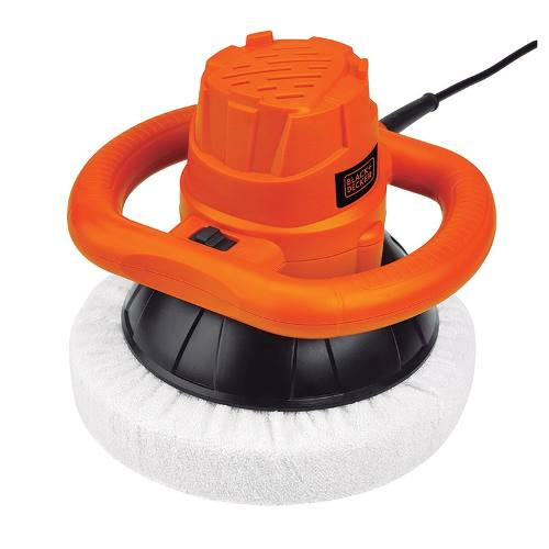 Pulidora Orbital 120w Kit Con Bonetes Kp12k Black And Decker