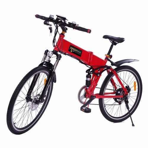 Bicicleta Electrica Plegable 26 Pulgadas 350w Bateria Oculta