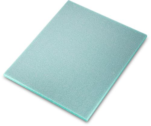 Almohadilla Una Cara Verde Super Fino 140 X 115 X 5mm Sia