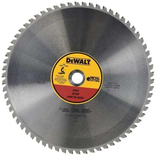 Disco De Carburo 14  66 Dientes Para Metales Dwa7747 Dewalt