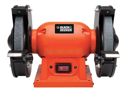 Esmeril De Banco 6  180 W 3450 Rpm 1/4h Bg180 Black & Decker