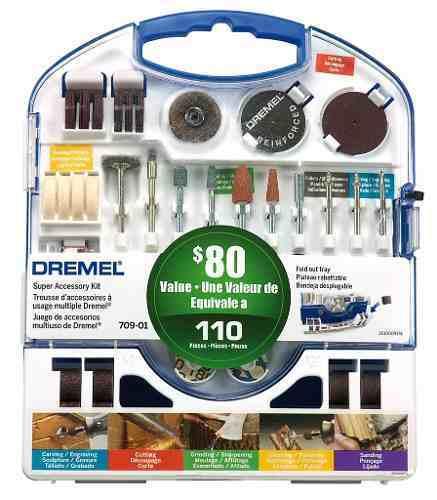 Dremel Accesorio Kit 709 Uso General 110 Pz