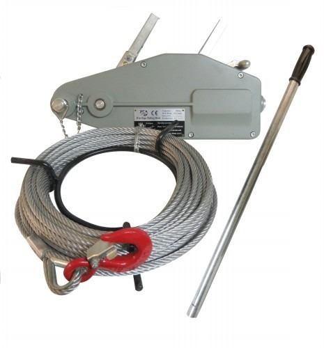 Tirfor 5,4 Toneladas Con Cable De 20 Mm 20 Metros Alhph-5,4t
