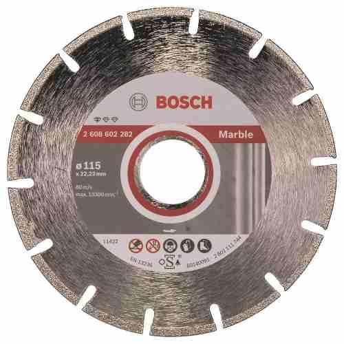 Disco Diam. Professional Marmol Segmentado 4 1/2  Bosch