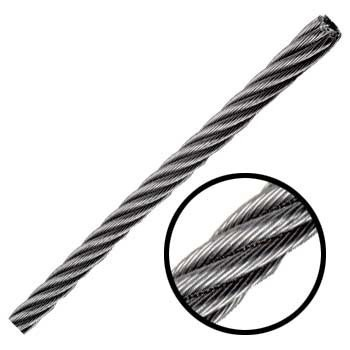Cable De Acero En Rollo 7x7 1/8 Y 499 Metros Obi
