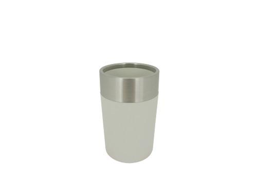 Vaso Acero Inoxidable Pvc Blanco Ba-423188 Namaro Design