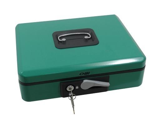 Caja De Seguridad Para Dinero Con Palanca 30cm Color Verde