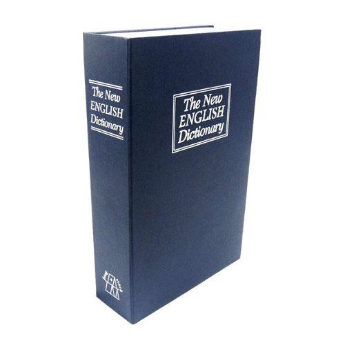 Caja De Valor Forma De Libro Plastico 24 Cm Con Combinacion