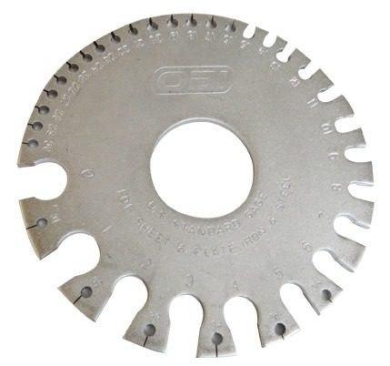 Juego De 3 Calibradores Metal / Lamina Ferroso 0-36 Obi