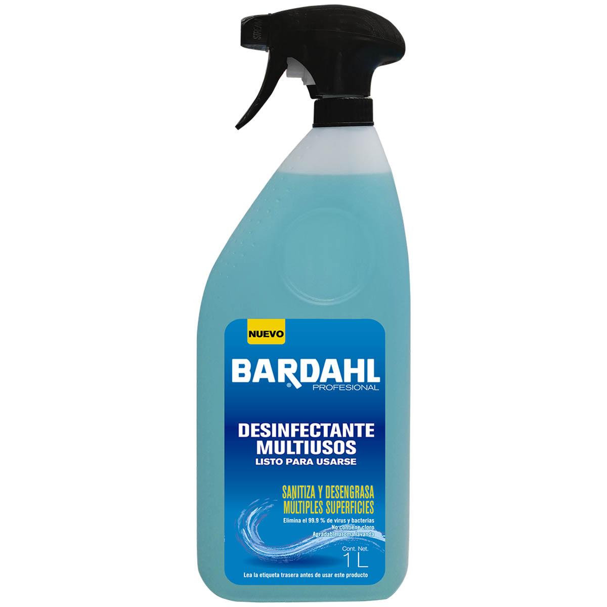 Desinfectante Limpiador Multiusos Desengrasante 1L Bardahl