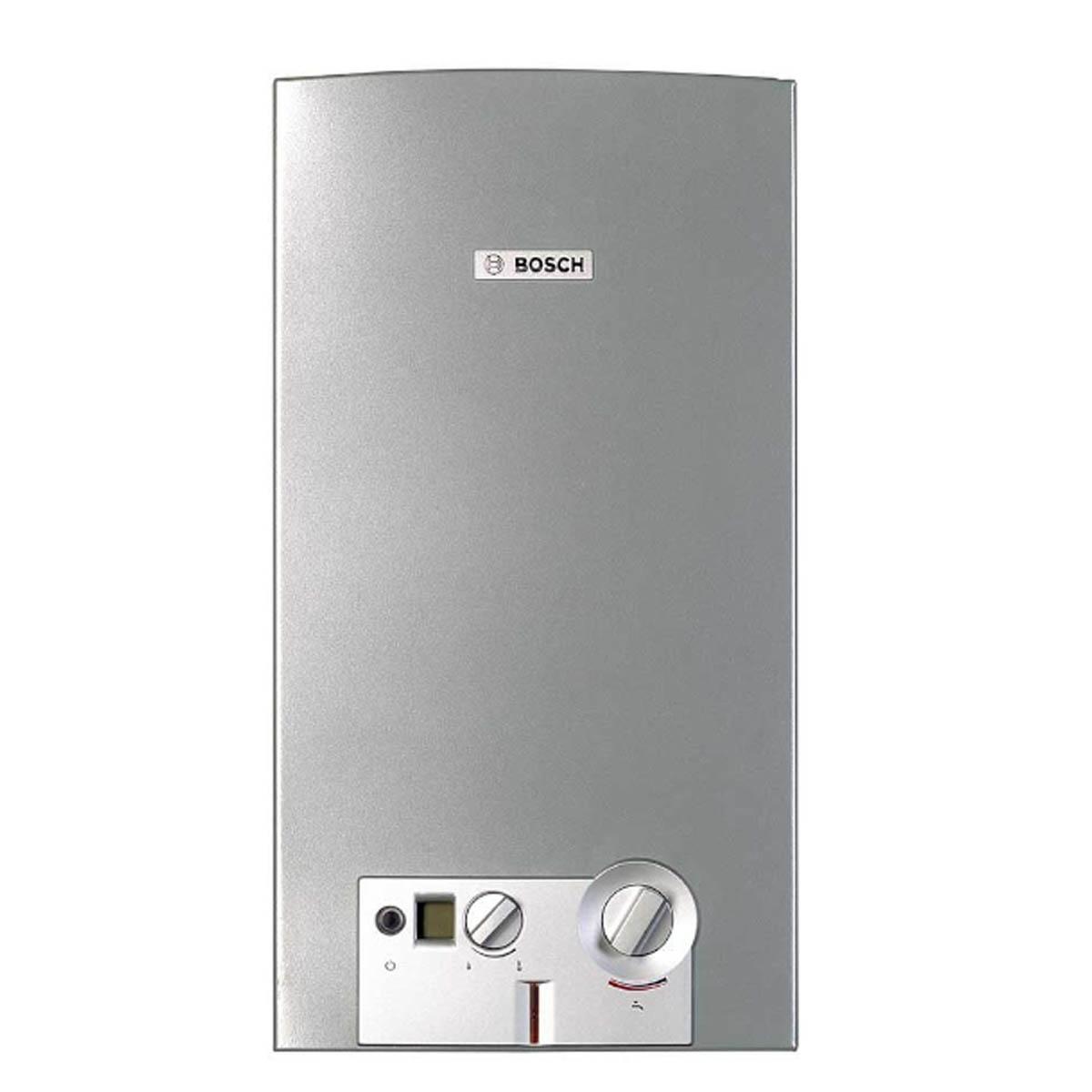 Calentador Instantaeo Agua 16L Gas Natural Hogar Casa Bosch