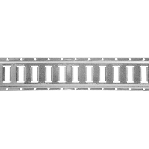 Riel Logistico Tipo E De 3 Metros Y 2.7mm Horizontal Carga