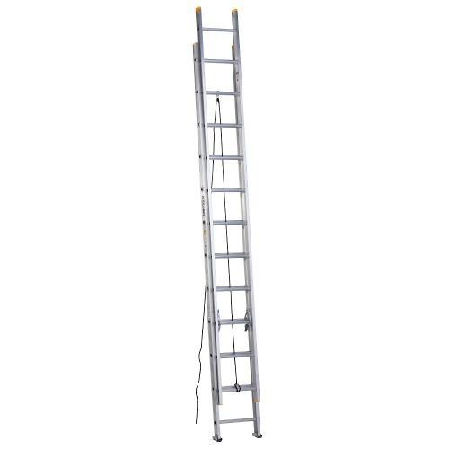 Escalera Aluminio Extensión 9.75 M Alto Tipo Iii 91kg Keller