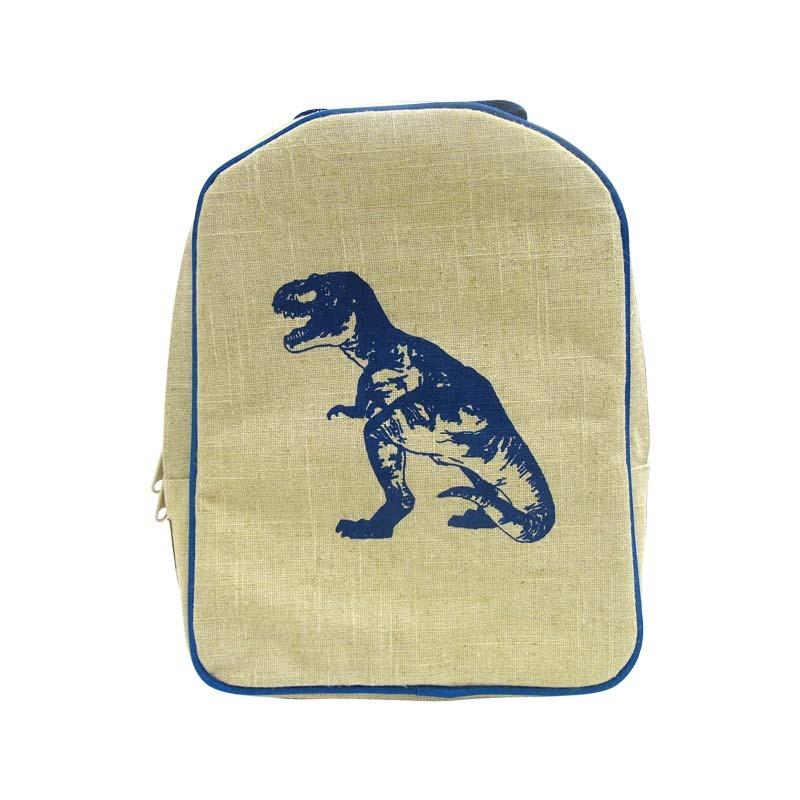 Lonchera Tipo Mochila Preescolar Dinosaurio Azul Soyoung