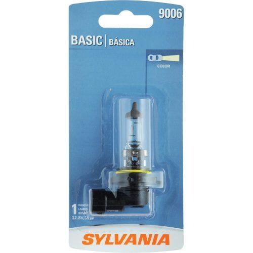 Foco Frontal Basic Sylvania 9006 Halogeno Paquete De 1 Pza