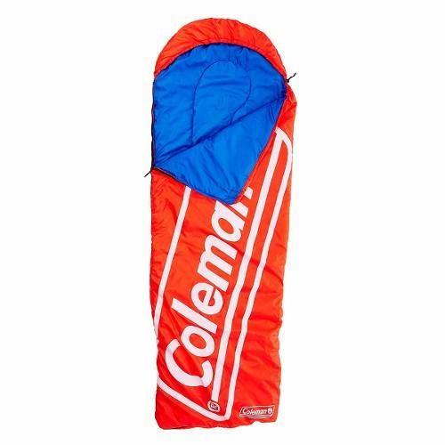 Bolsa De Dormir Sleeping Bag Cirrus Con Gorro Rojo Coleman