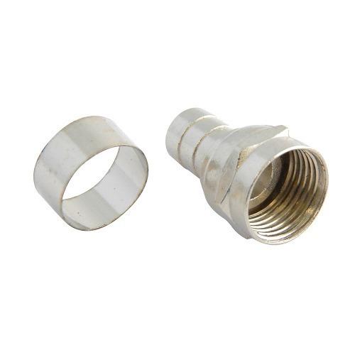 Conector Tipo Campana Para Cable Coaxial Rg6 153201 Surtek