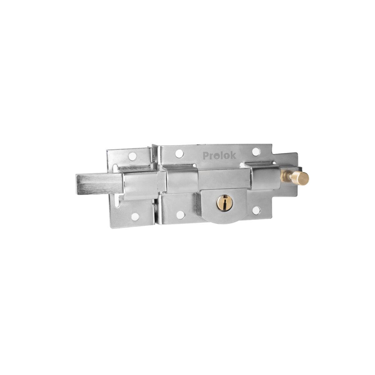 Cerradura barra fija izquierda caja Laton Solido  Prolok