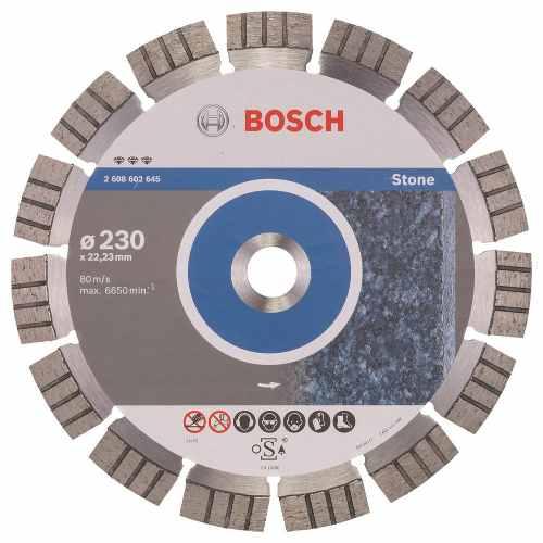 Disco Diam. Best Piedra Segmentado 9  Bosch