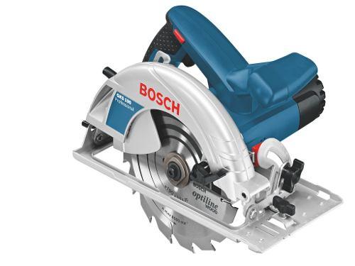 Sierra Circular Portátil 1400w 5500rpm Gks 190 Bosch